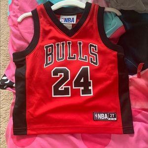 Bulls boy jersey